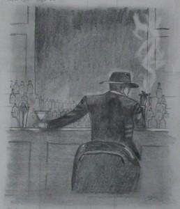 Cigar bar (Brent Lynch) - Ceruza - 150x180 - 2012