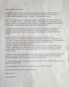 Dabóczy Gergely művészeti bemutató, Köszöntő, 2017.08.21, Ősfalkoz, Európa Klub