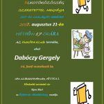 Művészeti bemutató, 2017.08.21, Székesfehérvár Európa Klub (Fő út 3.), Ősfehérvár Alkotó Közösség