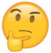 Emoji hmmm