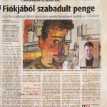 Fiókjából szabadult a penge - Fejér Megyei hírlap 19.02.18