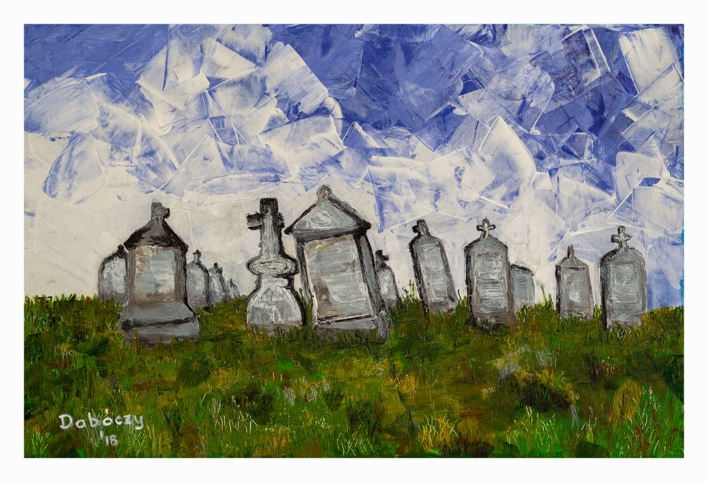 Elhagyott temető - 2018